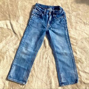 Boys Flypaper blue jeans, sz 7, adjustable waist.